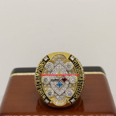2008 Pittsburgh Steelers Super Bowl XLIII Football Championship Ring