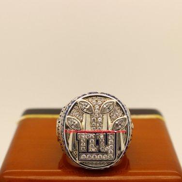 2011 New York Giants Super Bowl XLVI Football Championship Ring