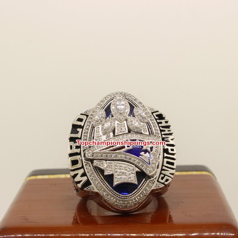 2016 New England Patriots NFL Super Bowl Football Championship Ring- BRADY