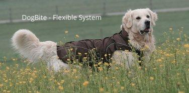 "On Sale: (XXL) Warm Dog Winter Coat w/ Fleece Lining, 23-1/4"", Brown"