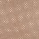Light Brown Suede Upholstery Fabric By The Yard | Embroidered Dots | Pattern #: B153