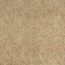 "54"""" B303 Light Brown, Abstract Swirl Microfiber Upholstery Fabric By The Yard"