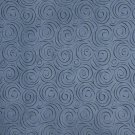 """54"""""""" B308 Blue, Abstract Swirl Microfiber Upholstery Fabric By The Yard"""