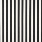 "54"""" B489 Black, Striped Indoor Outdoor Marine Scotchgard Upholstery Fabric By The Yard"
