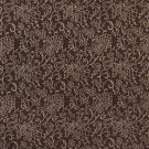 "B603 Brown, Contemporary Floral Jacquard Woven Upholstery Fabric By The Yard | 54"""" Wide"