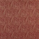 """B634 Red, Traditional Paisley Jacquard Woven Upholstery Fabric By The Yard 
