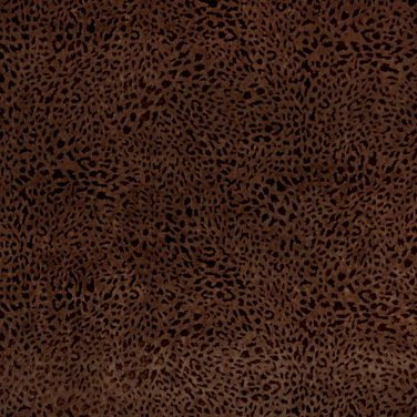 "54"""" D841 Dark Brown Indented Animal Spots Microfiber Upholstery Fabric By The Yard"