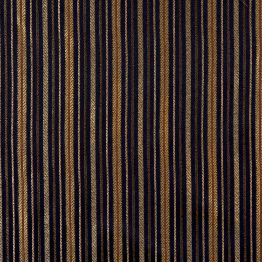 54 Quot Quot E600 Striped Navy Blue Yellow Green Damask Upholstery