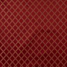 "54"""" E611, Diamond Red, Gold And Green Damask Upholstery And Window Treatment Fabric By The Yard"