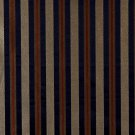 """54"""""""" E624 Striped Navy Blue Yellow Green Damask Upholstery Window Treatment Fabric By The Yard"""