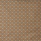 "54"""" E662, Diamond Brown, Green And Gold Damask Upholstery And Window Treatment Fabric By The Yard"