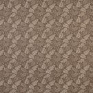 "54"""" F704 Brown, Leaf Floral Heavy Duty Crypton Commercial Grade Upholstery Fabric By The Yard"
