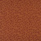 """54"""""""" Wide E208 Red Orange Floral Leaf Residential Contract Grade Upholstery Fabric By The Yard"""