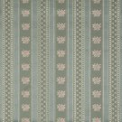 """54"""""""" Wide D124 Gold, Pink And Blue, Floral Striped Brocade Upholstery Fabric By The Yard"""
