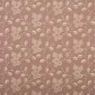 "54"""" Wide D142 Gold And Pink, Floral Brocade Upholstery Fabric By The Yard"