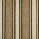 "54"""" Wide C430 Beige Blue Green Brown Striped Outdoor Indoor Marine Upholstery Fabric By The Yard"