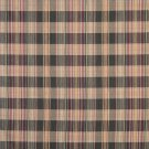 "54"""" Wide H600 Red, Gold And Green, Textured Plaid Upholstery Grade Fabric By The Yard"