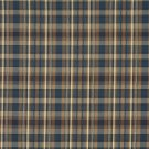 """54"""""""" Wide H476 Blue And Beige, Textured Plaid Upholstery Grade Fabric By The Yard"""