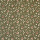"54"""" Wide F907 Green And Burgundy, Floral Tapestry Upholstery Fabric By The Yard"