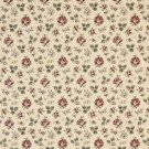 "54"""" Wide F909 Gold, Burgundy And Green, Floral Tapestry Upholstery Fabric By The Yard"