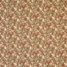 """54"""""""" Wide F911 Brown, Green And Burgundy, Floral Leaves Tapestry Upholstery Fabric By The Yard"""