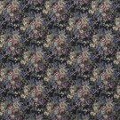 "54"""" Wide F927 Blue, Green And Burgundy, Floral Tapestry Upholstery Fabric By The Yard"