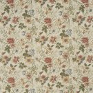 """54"""""""" Wide F929 Red, Green And Yellow, Floral Tapestry Upholstery Fabric By The Yard"""