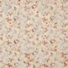 F814 Burgundy Green Gold Pastel Butterflies Flowers Jacquard Woven Upholstery Fabric By The Yard