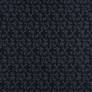 """54"""""""" Wide D321, Navy And Blue Vine Leaves Jacquard Woven Upholstery Fabric By The Yard"""