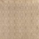 """54"""""""" Wide K0015D Ivory Small Scale Embroidered Pointed Oval Brocade Upholstery Fabric By The Yard"""