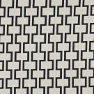 "54"""" Wide K0002G Midnight Off White Modern Geometric Designer Quality Upholstery Fabric By The Yard"