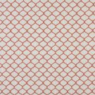 """54"""""""" Wide K0005C Persimmon Off White Modern Geometric Designer Quality Upholstery Fabric By The Yard"""