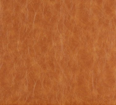 G625 Caramel Brown Distressed Leather Look Upholstery Recycled Leather (Bonded Leather) By The Yard