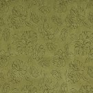 """54"""""""" Wide Green, Floral Microfiber Upholstery Fabric By The Yard"""