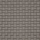 G660 Silver, Metallic Basket Woven Look Upholstery Faux Leather By The Yard