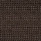 G674 Brown, Metallic Cross Hatch Upholstery Faux Leather By The Yard