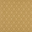 """A146 Gold Foliage And Bouquets Upholstery Fabric By The Yard 