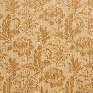 """K0100H Gold Two Toned Floral Metallic Sheen Upholstery Fabric By The Yard   Width: 54"""""""""""