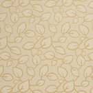 U0000D Gold Large Scale Leaves Upholstery Fabric By The Yard