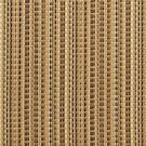 U0180C Brown And Beige Woven Striped Silk Satin Look Upholstery Fabric By The Yard