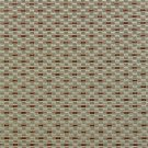 U0210E Teal And Copper Small Rectangle Check Silk Satin Look Upholstery Fabric By The Yard