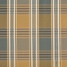 U0220A Gold Green Teal Shiny Various Size Stripes Plaid Silk Look Upholstery Fabric By The Yard