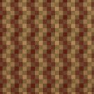 U0240C Red And Green Checkered Silk Satin Look Upholstery Fabric By The Yard
