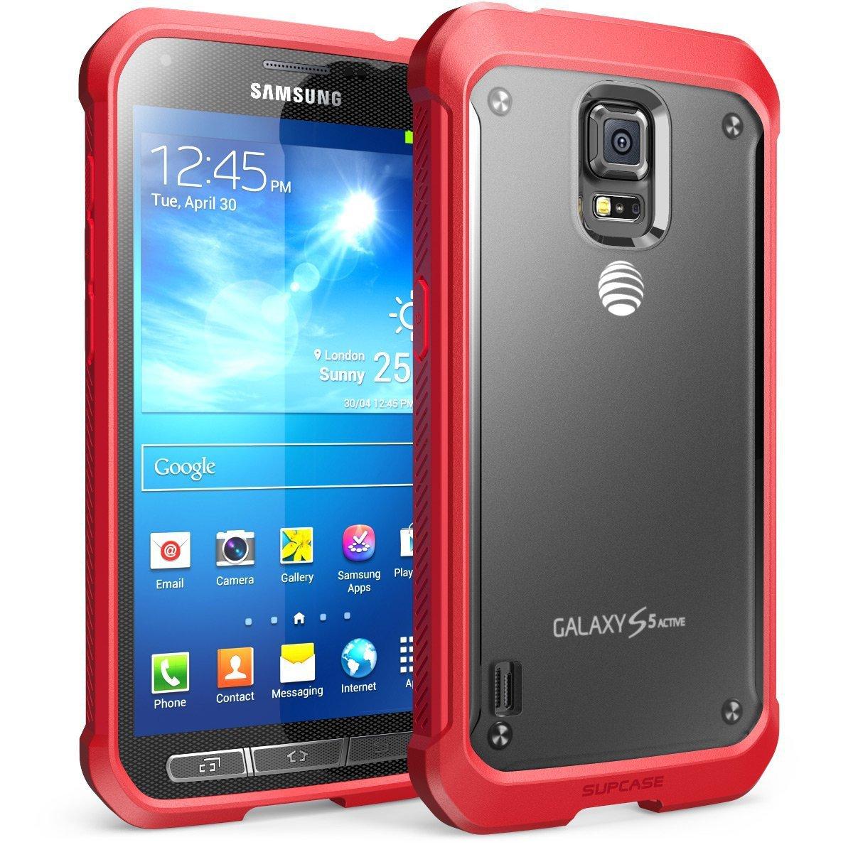Galaxy S5 Active Case, SUPCASE Unicorn Beetle Series ...