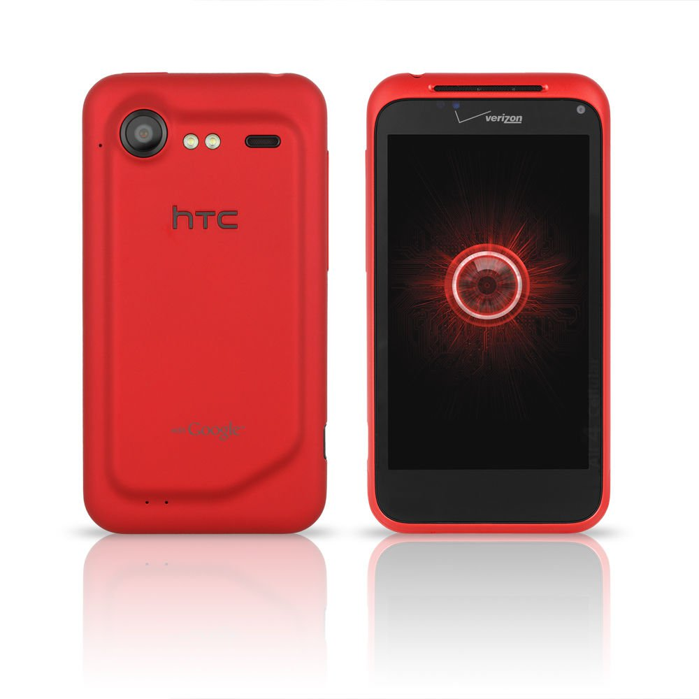 New Htc Adr6350 Droid Incredible 2 Verizon Wireless Red