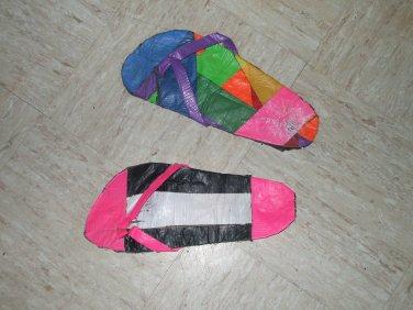 Duct Tape Flip Flops