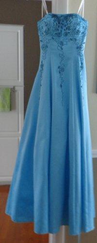 Cache Formal Dress Size 0, Robin Egg Blue
