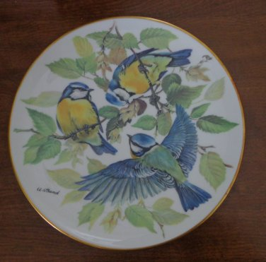 Alt Tirschenreuth 1985 Decorative Bird Plate