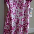 NWT Morgan Taylor Purple/White Floral Chemise - Size S
