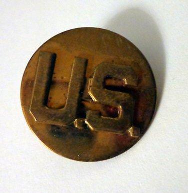 "Vintage ""US"" United States Army Pin (Vietnam or Korean War)"